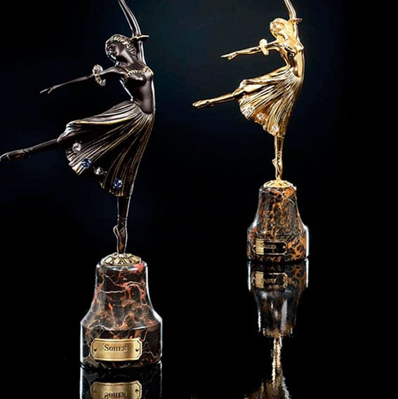 Soher-Figuras-de-bronce-bailarinas