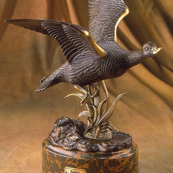 Soher-Figuras-de-bronce-pato